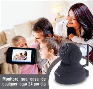 Câmera IP – Monitore seu Imóvel de onde você Estiver